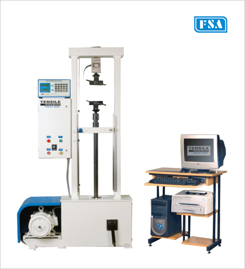 Electronic Computerised Tensile Testing Machines