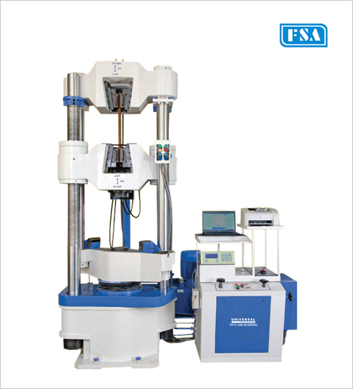 Front Open, Hydraulic Grips Universal Testing Machines