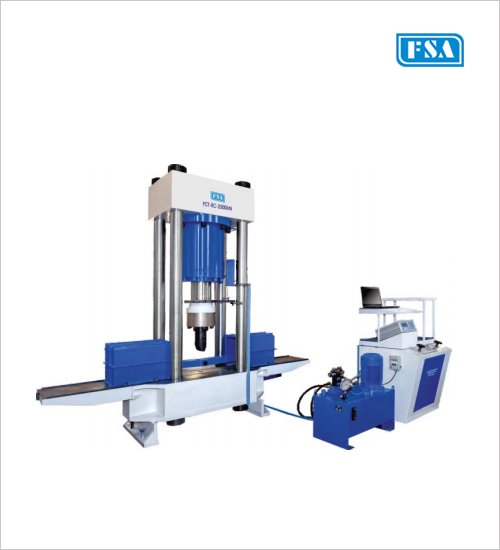 Transverse Testing Machines for Rails